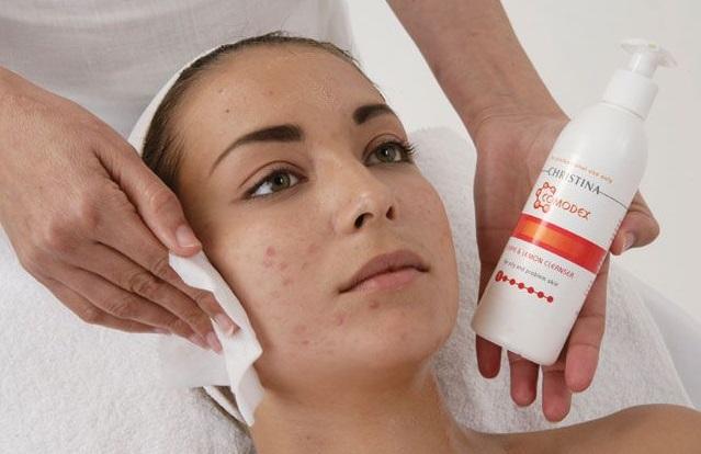 Интенсивный профессиональный уход за кожей лица
